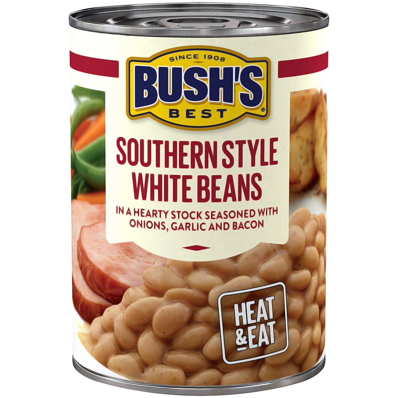Bush's Best Southern Style White Savory Beans