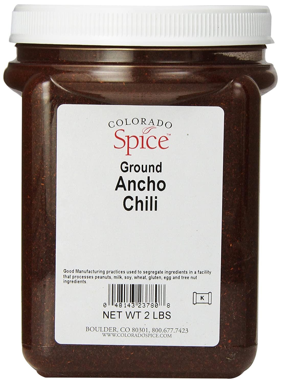Colorado Spice Chili Pepper, Ancho Ground