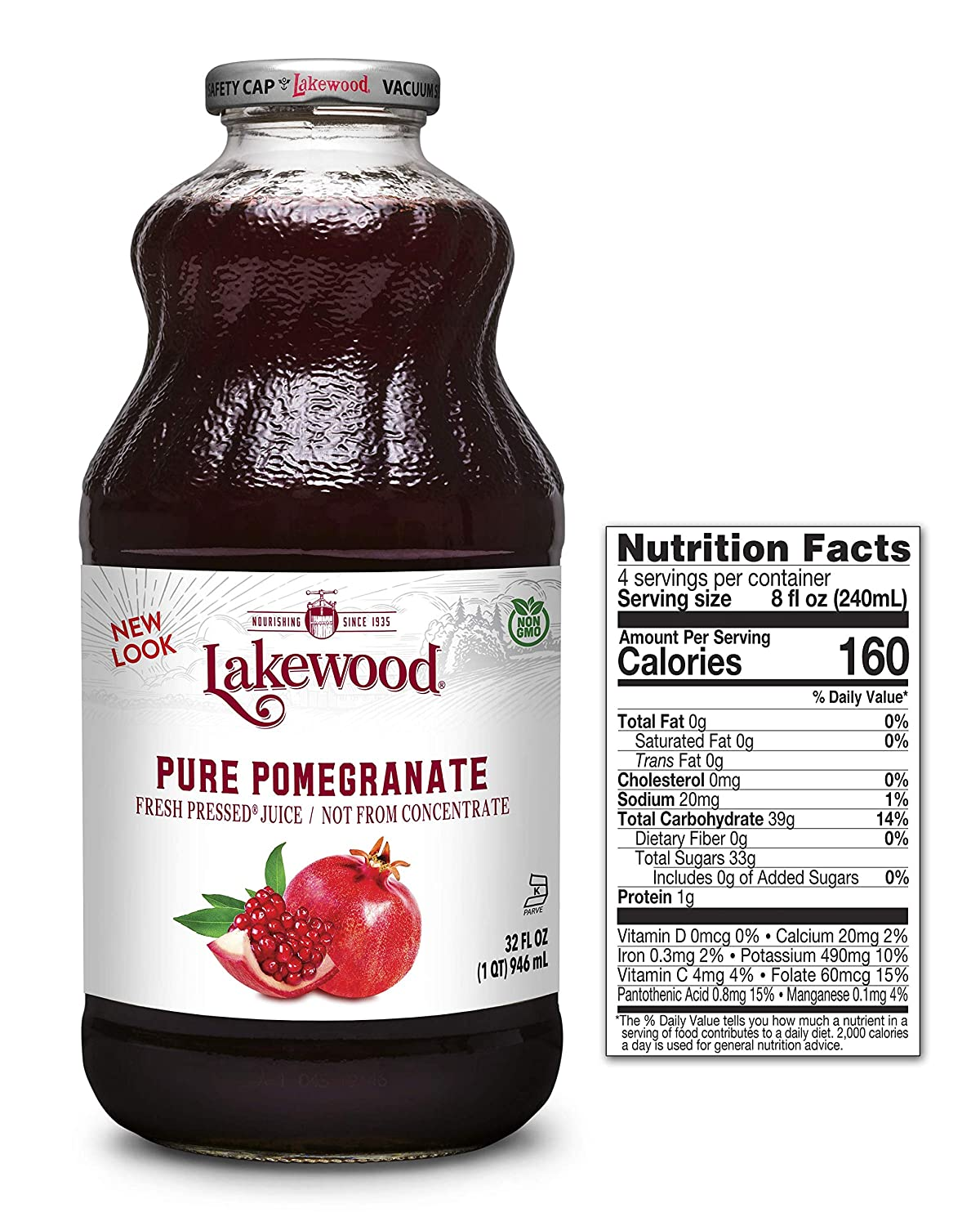 Lakewood PURE Pomegranate Juice