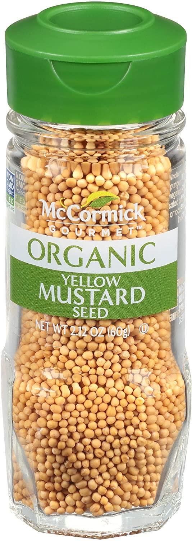 McCormick Gourmet Organic Yellow Mustard Seed