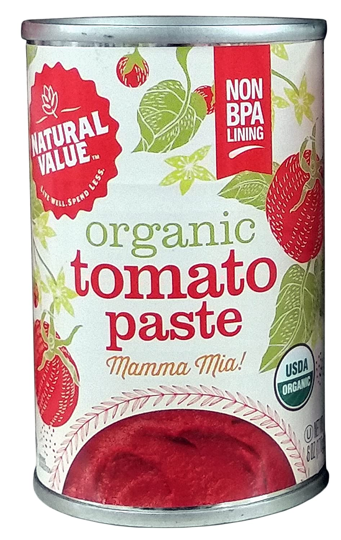 Natural Value Organic Tomato Paste