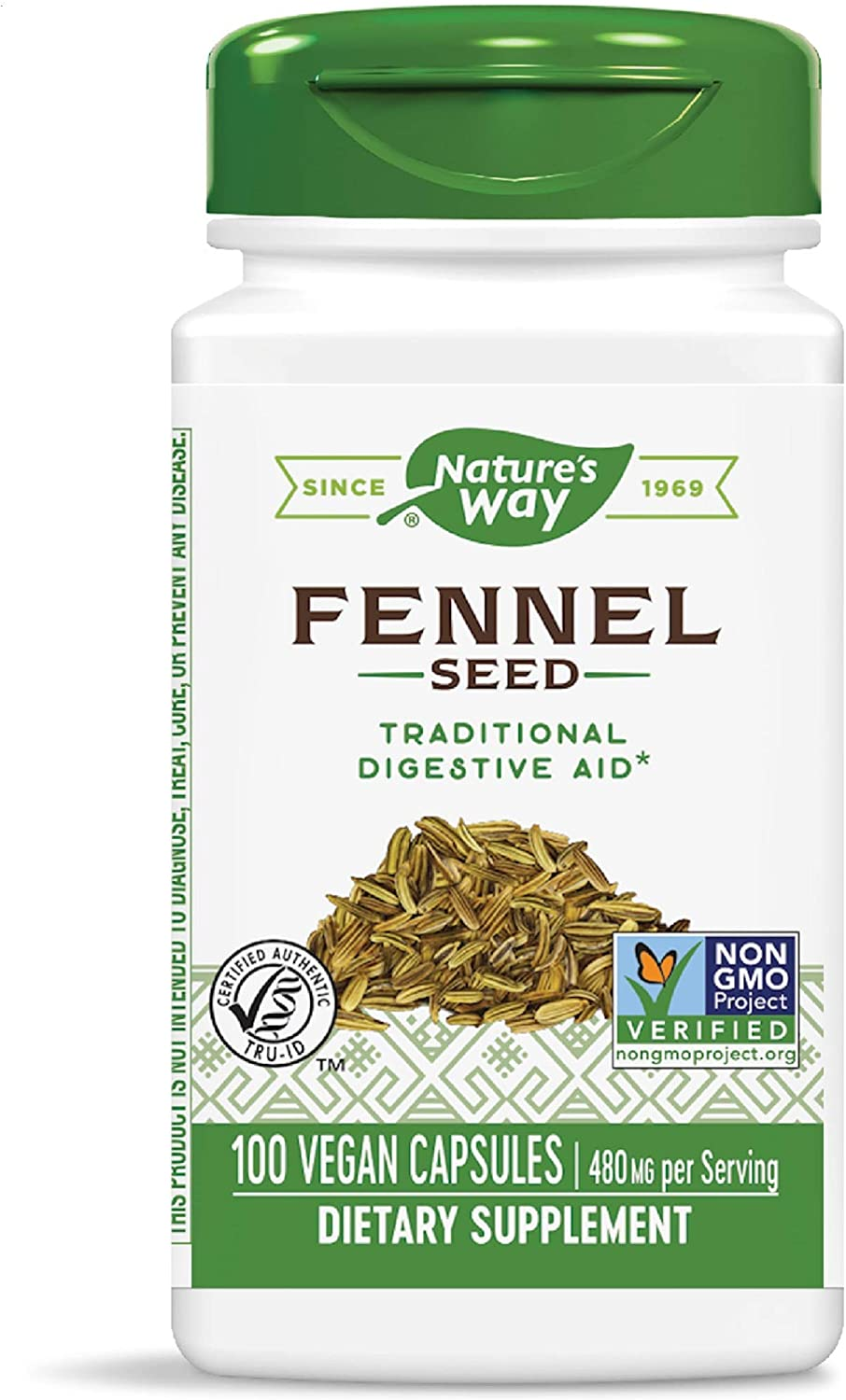 Nature's Way Fennel Seed 480 Mg