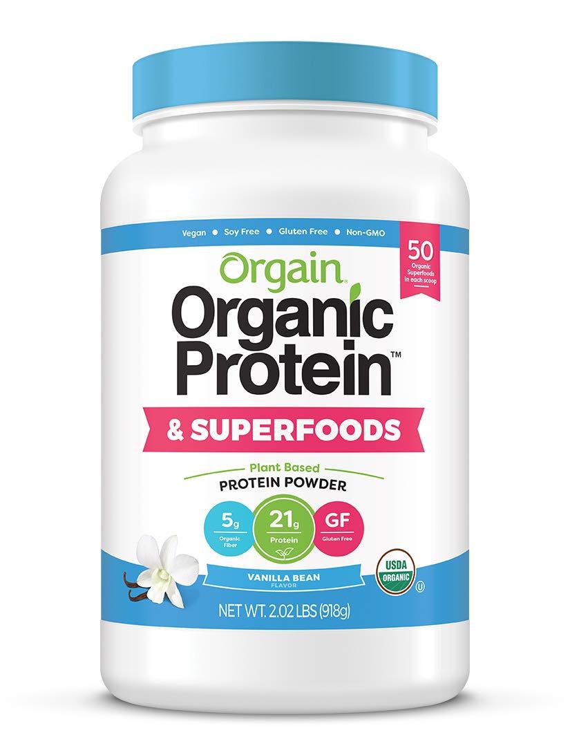 Orgain Organic Plant Based Protein