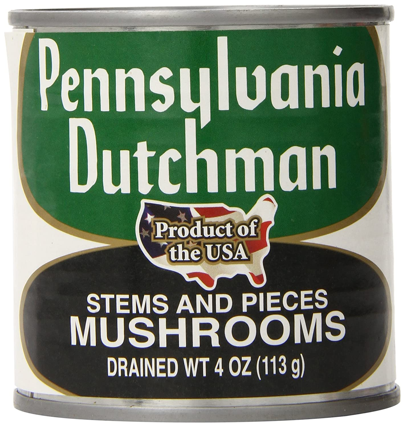 Pennsylvania Dutchman Canned Mushrooms