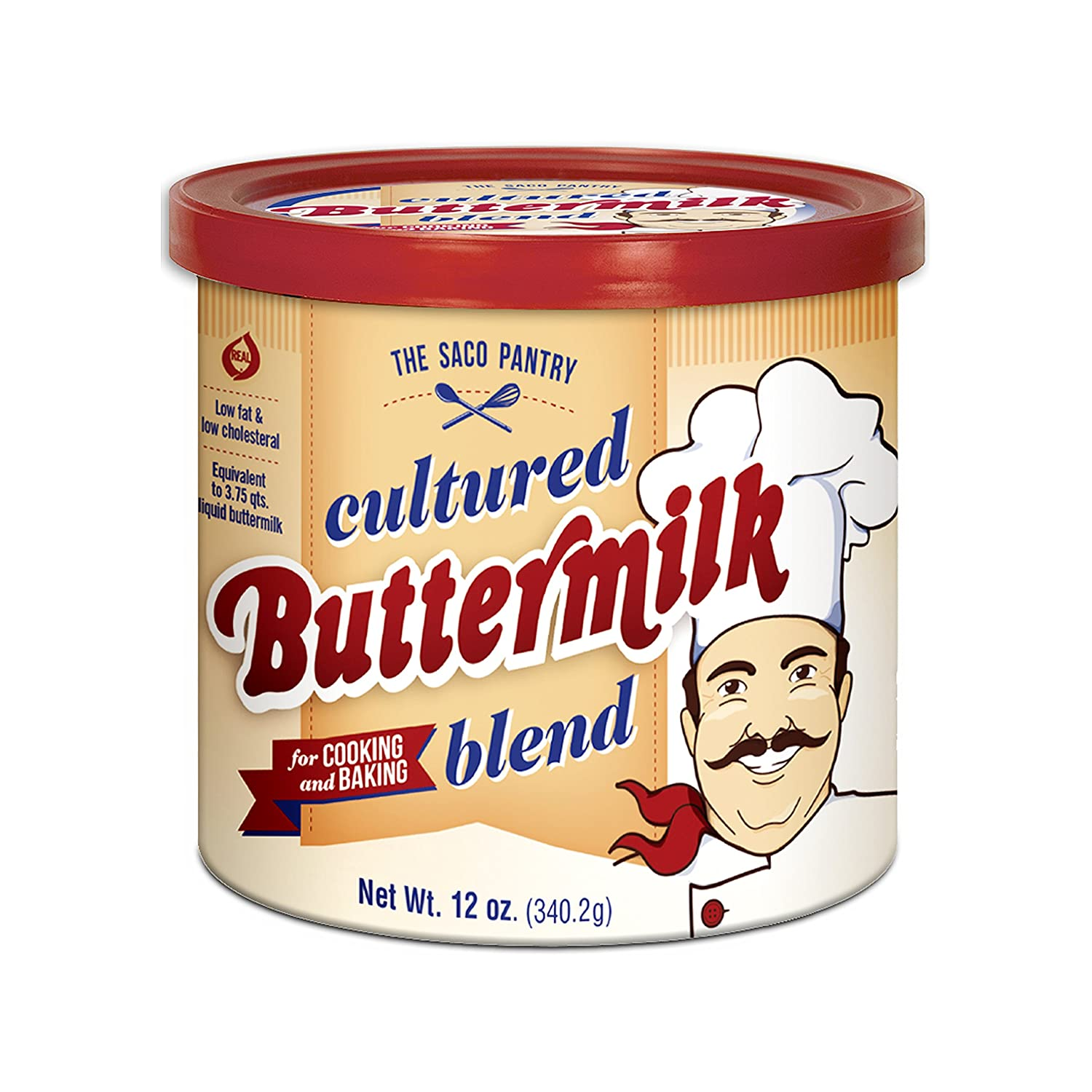 Saco Cultured Buttermilk for Cooking and Baking, Powdered