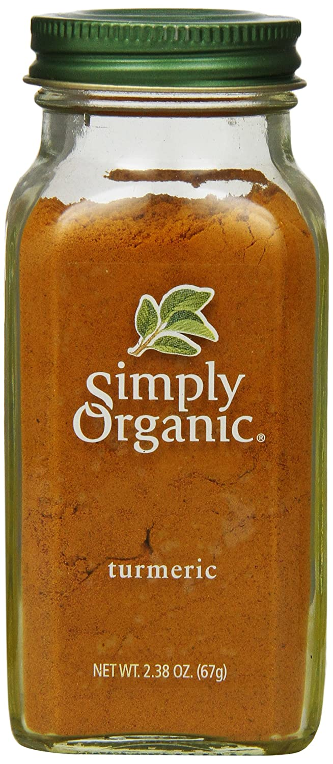 Simply Organic Turmeric Root Ground Certified Organic