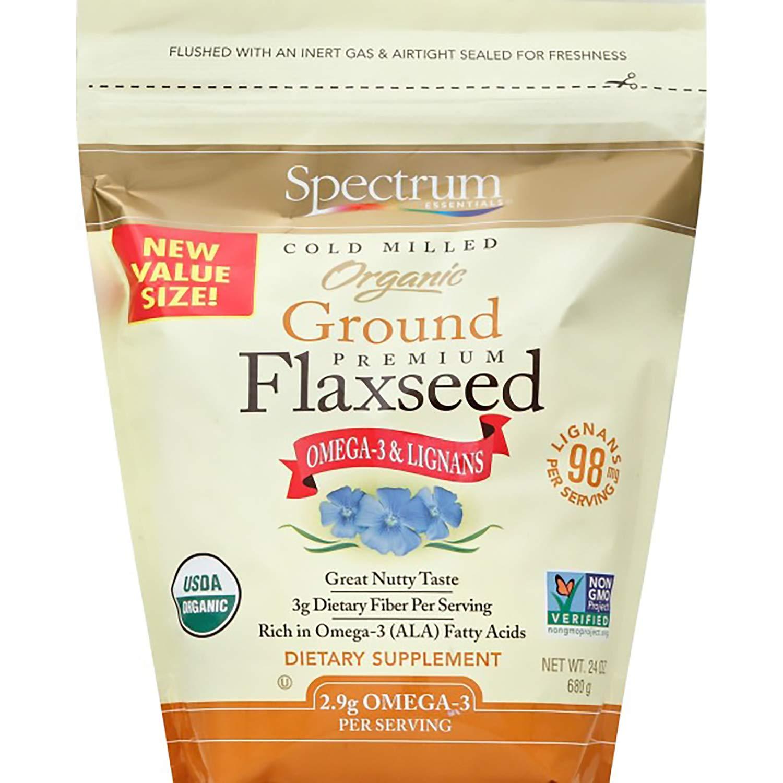 Spectrum Essentials Organic Ground Premium Flaxseed