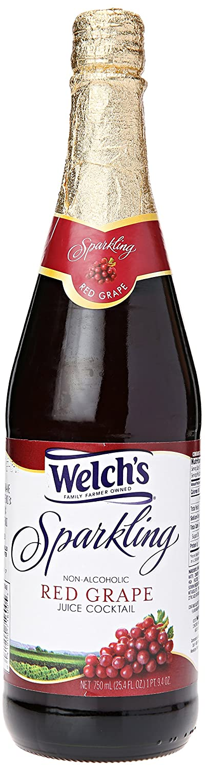 Welch's Sparkling Red Juice, Grape