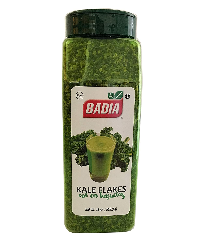 18 oz Bottle-Kale Flakes Leaves Dried