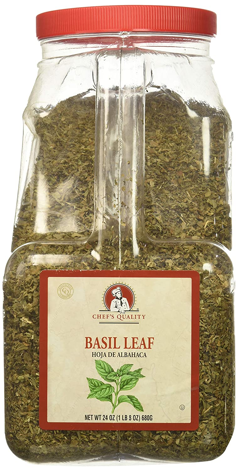 Chef's Quality Basil Leaves
