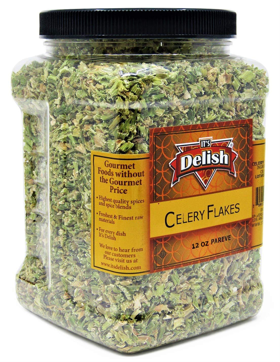 Dried Celery Flakes by It's Delish