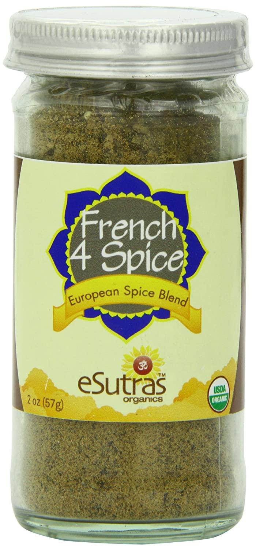 Esutras Organics French Four Spice