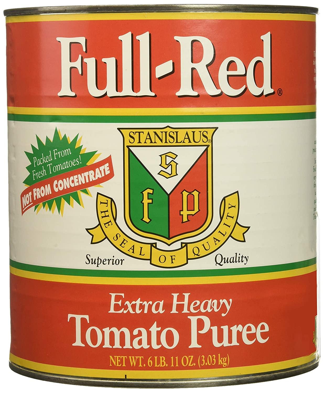 Full Red Tomato Puree