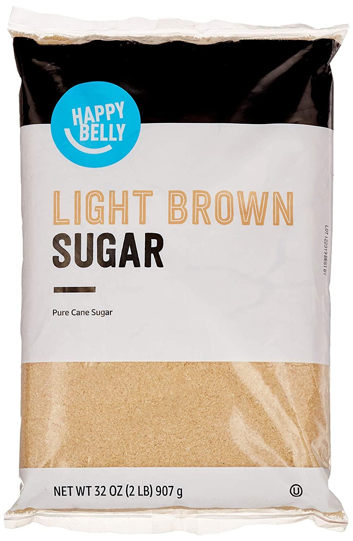 Amazon Brand - Happy Belly Light Brown Sugar