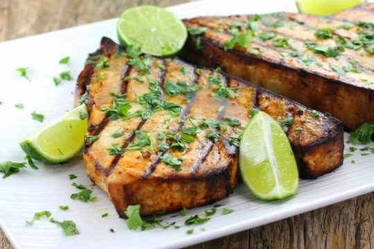How to Cook Swordfish on the Grill