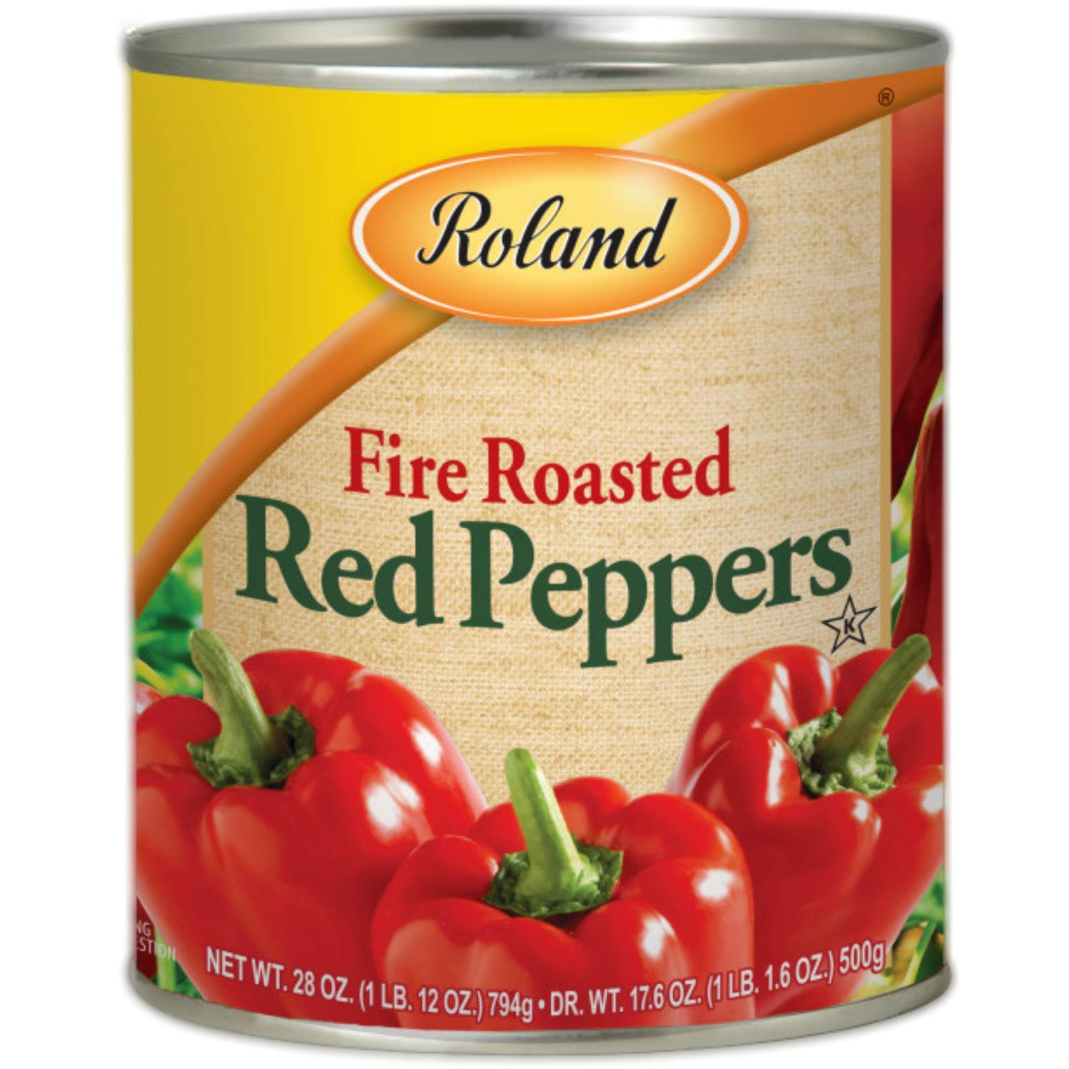 Roland Foods Fire Roasted Red Peppers