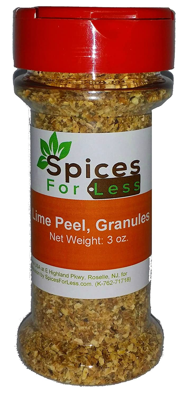 SFL Lime Peel, Granules Zest