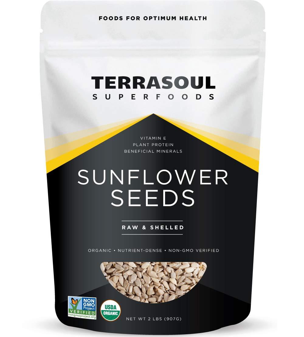 Terrasoul Superfoods Organic Hulled Sunflower Seeds