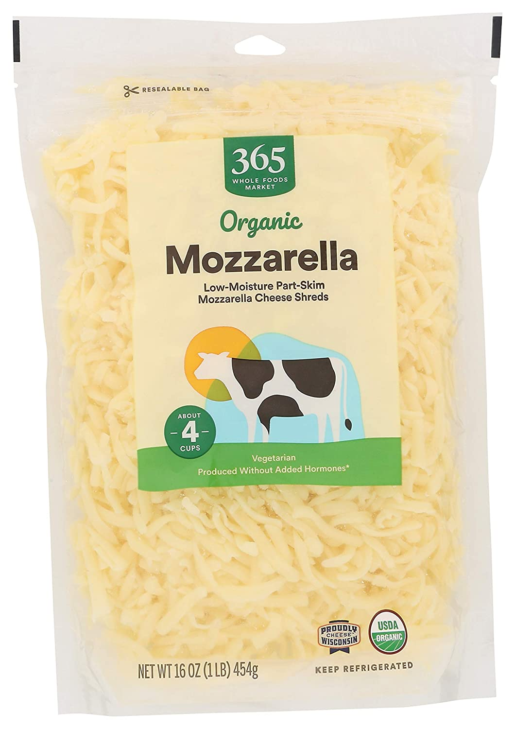 365 by Whole Foods Market, Organic Cheese Shreds