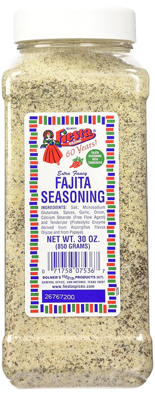Bolner's Fiesta Extra Fancy Fajita Seasoning