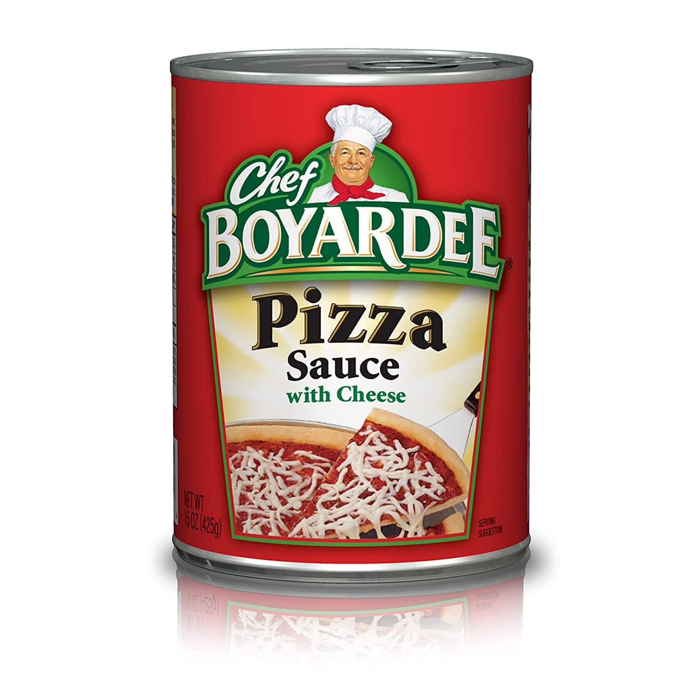 Chef Boyardee Pizza Sauce with Cheese