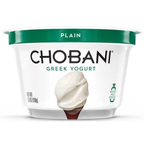 Chobani Greek Yogurt Low Fat Plain