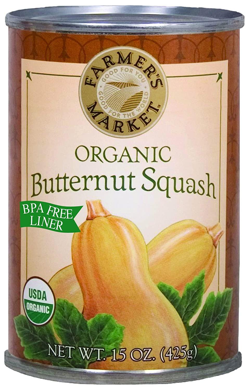 Farmer's Market Foods Canned Organic Butternut Squash Puree