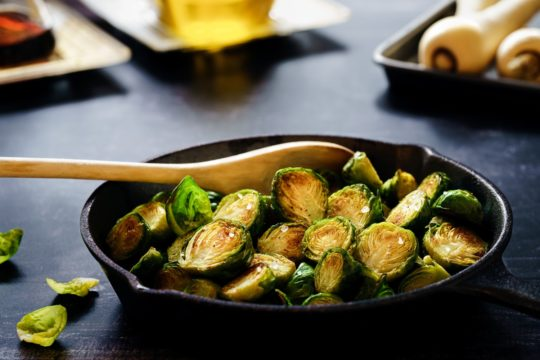 How to Cook Brussel Sprouts in the Oven