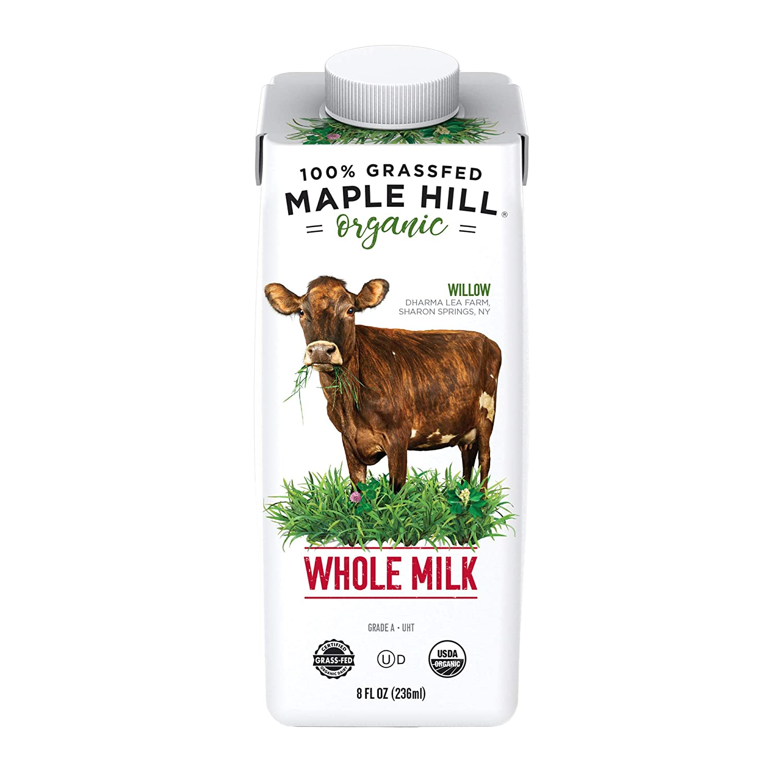 Maple Hill Shelf Stable Whole White Milk