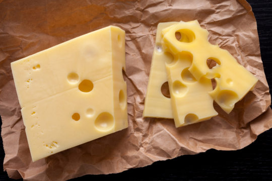 Substitute for Swiss Cheese