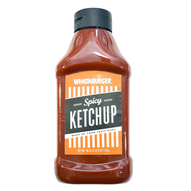 Whataburger Texas Size Spicy Ketchup