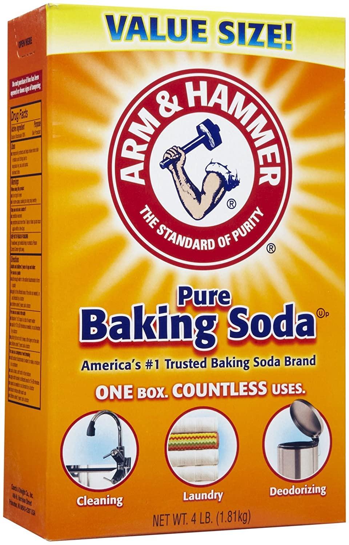 Arm & Hammer Baking Soda Value Size 4 Lb