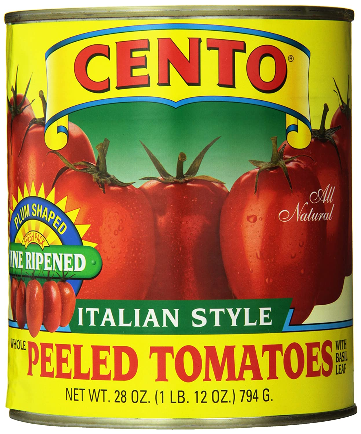 Cento Plum Tomatoes, 28-Ounce Cans