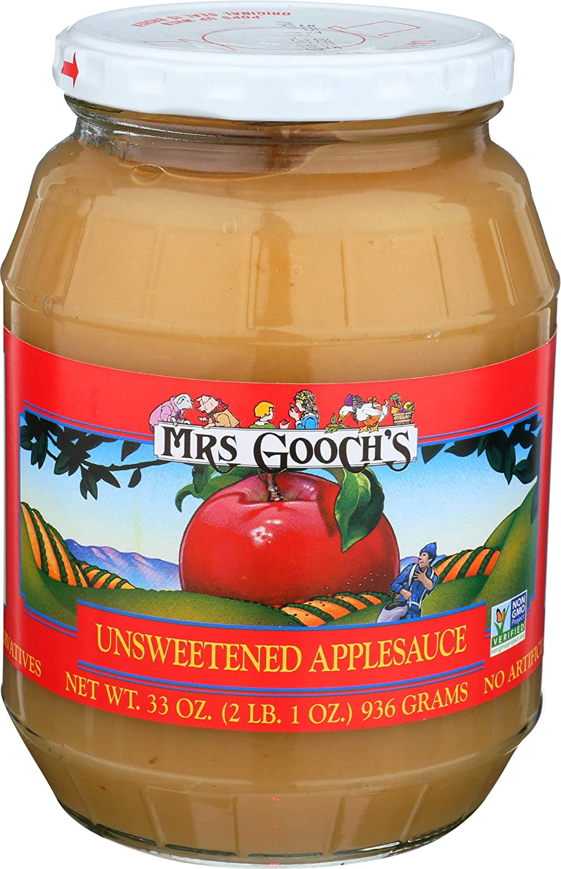 Goochs Grocery, Applesauce, 33 Ounce