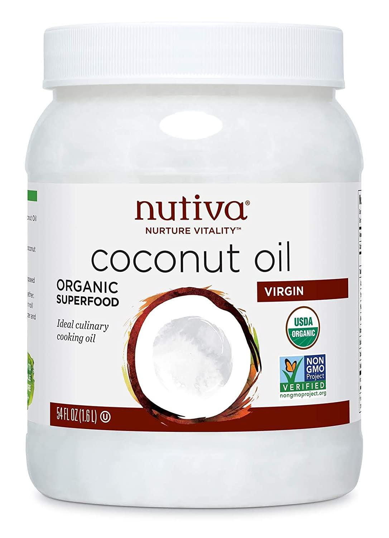 Nutiva Organic Cold-Pressed Virgin Coconut Oil