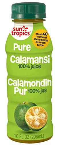 Sun Tropics Pure Calamansi, 10 oz (3 Pack), Not From Concentrate, Citrus Juice