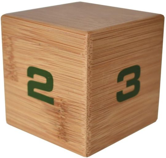 Datexx Bamboo Time Cube Kitchen Time