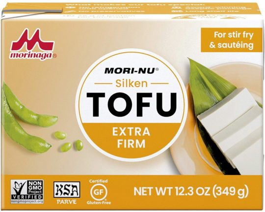 Mori-Nu Silken Extra Firm Tofu 12.3oz x 12 Pack