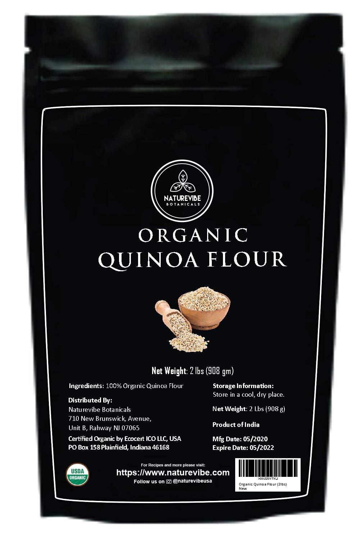 Naturevibe Botanicals Organic Quinoa Flour, 2lbs