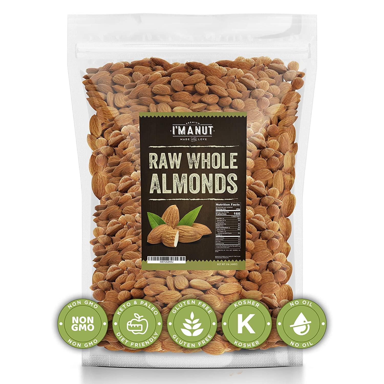 Raw Almond 48oz