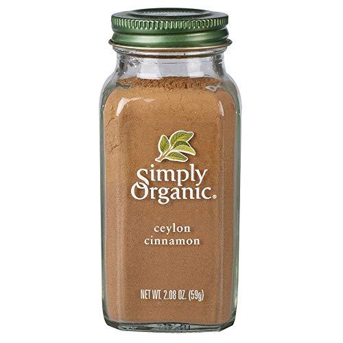 Simply Organic Ground Ceylon Cinnamon, Certified Organic, Vegan