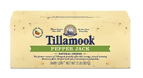 Tillamook Cheese 2lb Baby Loaf (Choose Flavor Below) (Pepper Jack)