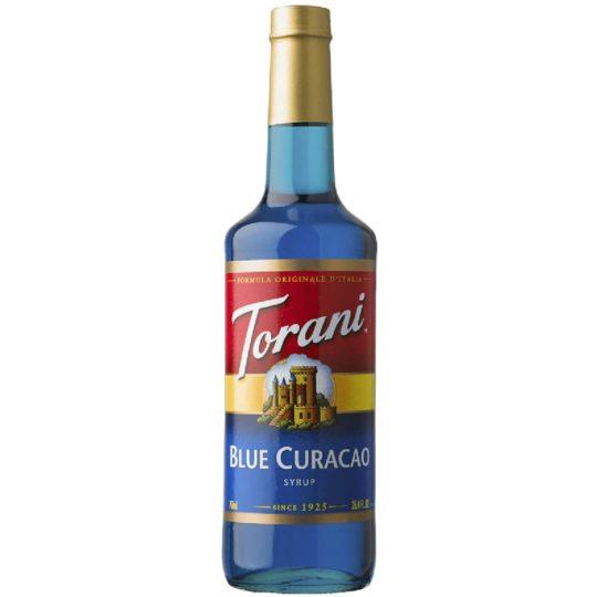 Torani Syrup - Blue Curacao - 750 ml