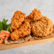 Oven-Baked, No-Breading Chicken Tenders