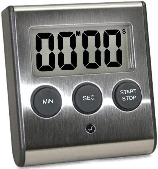 eTrade Winds Digital Auto Memory Kitchen Timer