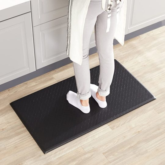 Amazon Basics Anti-Fatigue Standing Comfort Mat for Home and Office