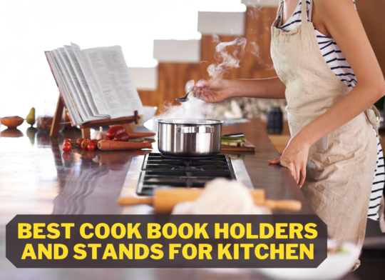 Best Cook Book Holders And Stands For Kitchen