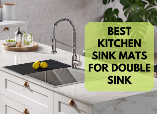 Best Kitchen Sink Mats for Double Sink