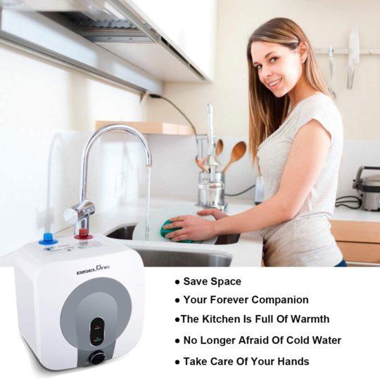 Electric Mini-Tank Hot Water Heater Storage