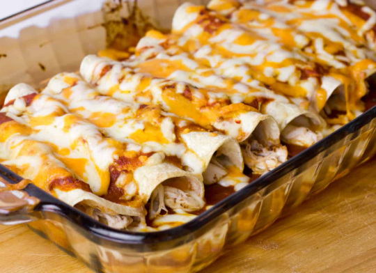 How to Cook Chicken for Enchiladas.